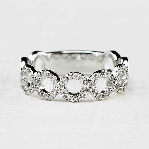 Circle Diamond Band