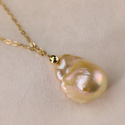 Organic Freshwater Pearl Necklace