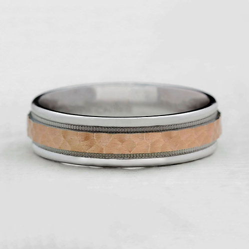Two-Tone Hammered Band