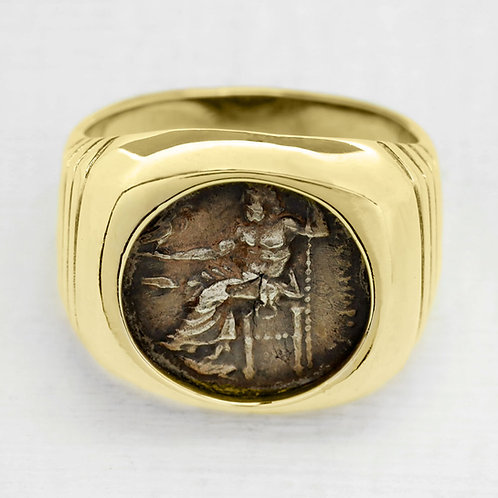 Doubloon Style Ring
