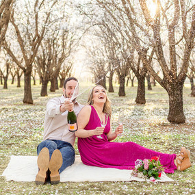 Almond-Blossom-Engagement-Session-Champa