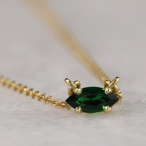 Marquise Tourmaline Necklace