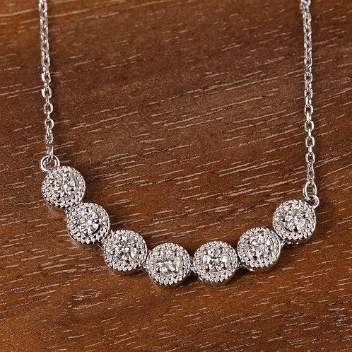 Seven Stone Necklace
