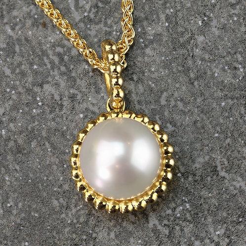 Beaded Pearl Pendant
