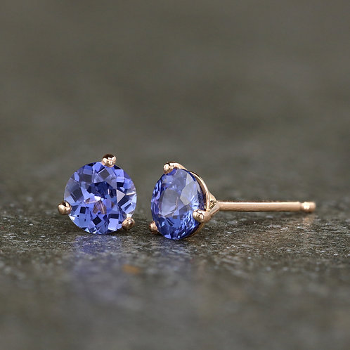 Sapphires in Rose Gold