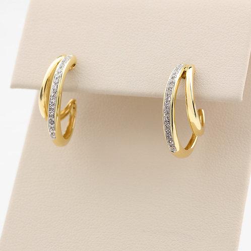 Double Curve Earrings