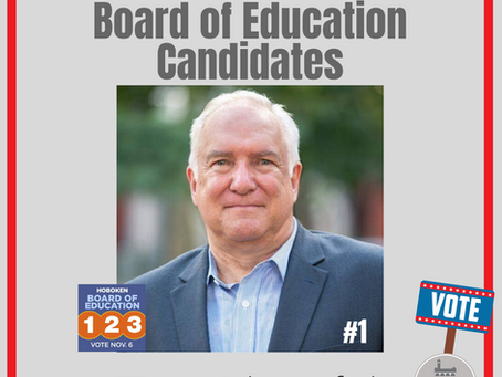 HOBOKEN MATTERS: Board of Education Candidate Tom Kluepfel