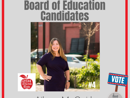 HOBOKEN MATTERS: Board of Education Candidate Ailene McGuirk