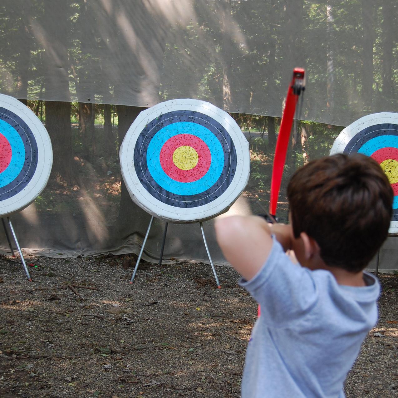 boy archery target