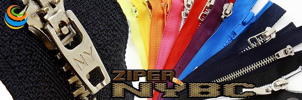 NYBC aviamentos armarinhos ziper ziperes fecho ecler modelos cores tamanhos