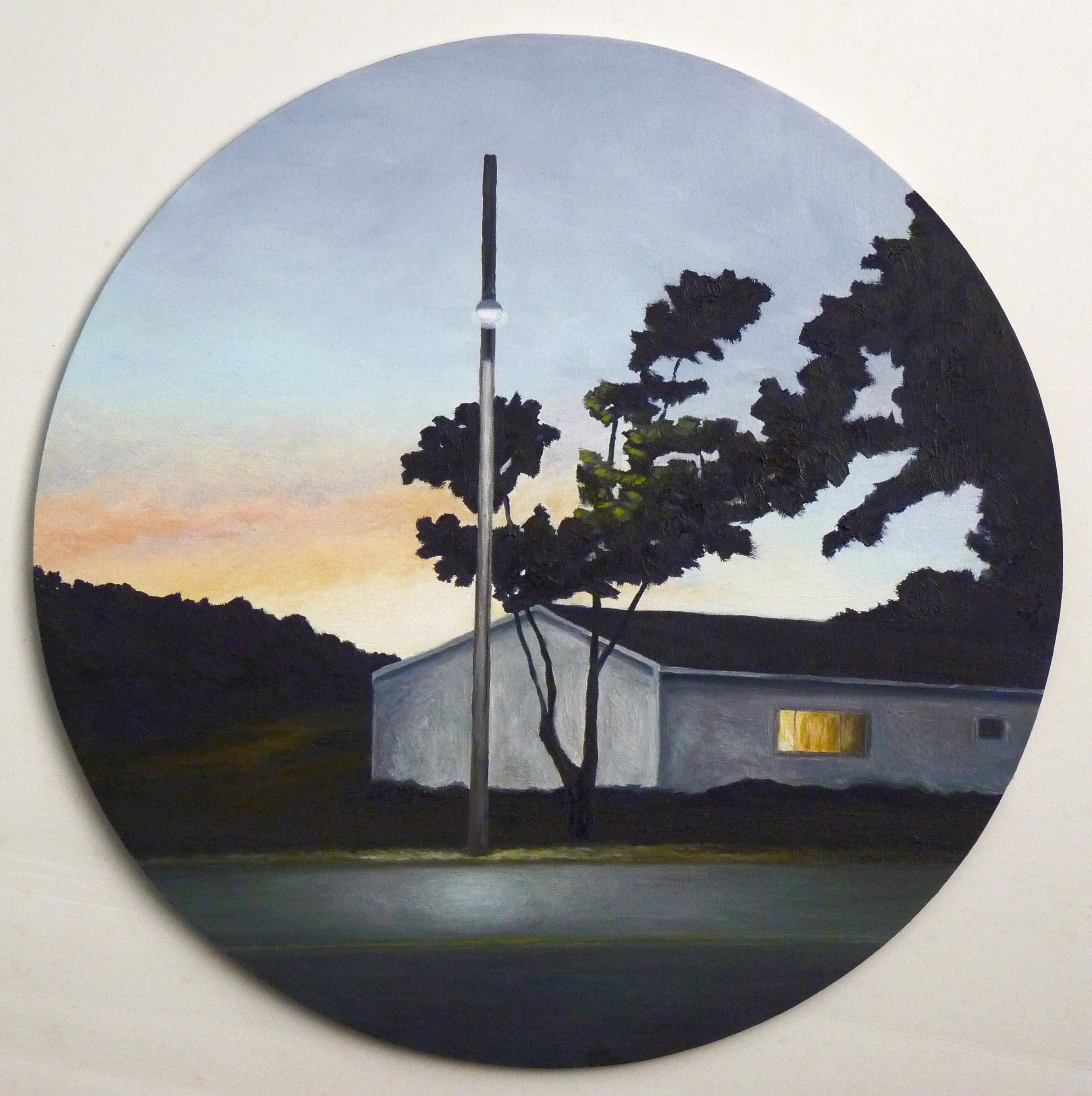 'Parrsboro, early evening'