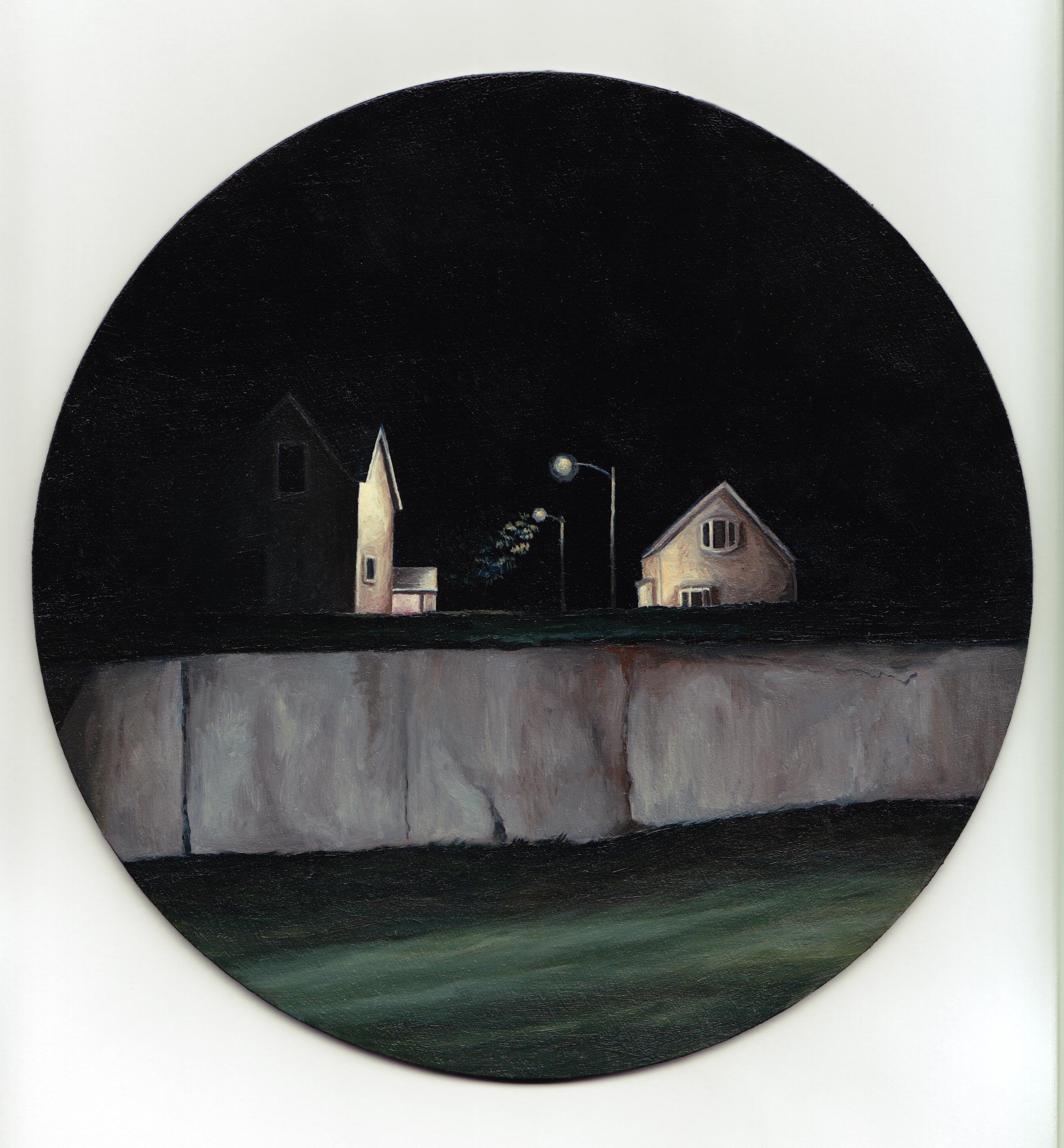 'Street Light, Parrsboro, NS'