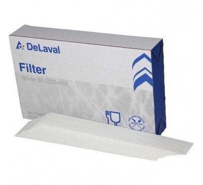 DeLaval Süt Filtresi GW60 320*60mm -Beyaz 200 adet-