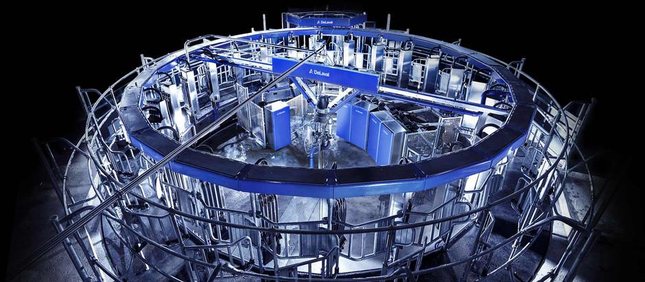 Otomatik Rotary Sağım Sistemi AMR / Automatic Milking Rotary System AMR