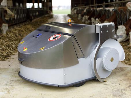 Çiftliklerde Yem İtme Robotunun Önemi / The importance of Feed Pusher In The Farm