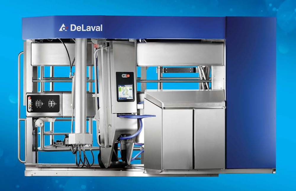 DeLaval VMS V300 Süt sağım robotu hakkında bilgiler. Süt sağım robotu fiyatı, süt sağım sistemi nasıl çalışır?