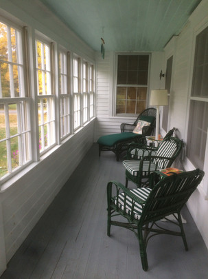 Issac house porch