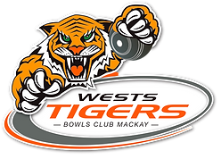 Wests Tigers Bowls Club Logo