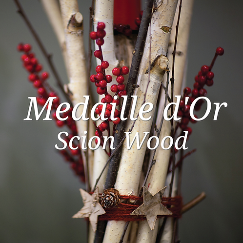 Medaille d'Or Scion Wood
