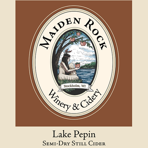Lake Pepin Semi-Sweet Still Cider