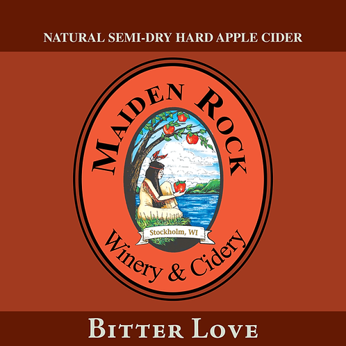 Bitter Love Semi-Dry Sparkling Cider