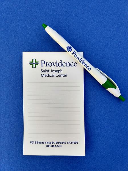 Providence Hospitals Pen & Pad.jpg