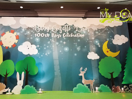 Forest Theme - Baby Shower - Island Shangri la Hotel Atrium Room