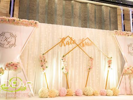 [MY DEAR FLORAL Royal Plaza Hotel Hotel Grand Ballroom Wedding Decoration- 婚禮佈置 ]