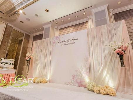 Aberdeen Marina Club - Grand Ballroom Wedding Decoration