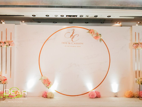 [MY DEAR FLORAL The Mira Hotel Grand Ballroom Wedding Decoration- 婚禮佈置 ]