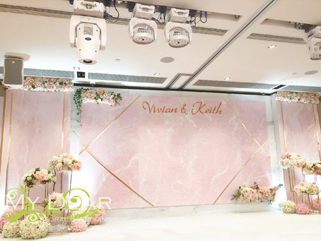 [MY DEAR FLORAL Kowloon Harbour Front Hotel Wedding Decoration- 婚禮佈置 ]