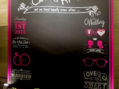Chalk Board 設計應用 - Marriot Countryard Hotel
