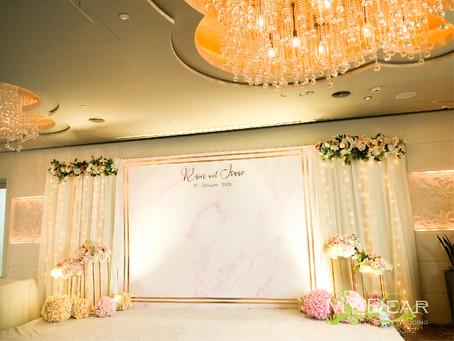 [MY DEAR FLORAL s Cordis Hotel Star Room Wedding Decoration- 婚禮佈置 ]