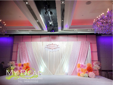 Holiday Inn Hotel Wedding Decoration
