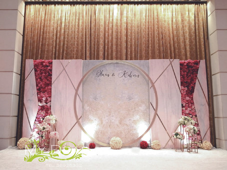 [MY DEAR FLORAL Cordis Hotel Grand Ballroom Wedding Decoration- 婚禮佈置 ]