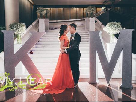 Intercontinental Hotel Grand Ballroom -閃亮大字-樓梯鮮花滿天星