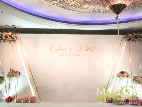 [MY DEAR FLORAL's The Mira Hotel Grand Ballroom Hotel Wedding Decoration- 婚禮佈置 ]