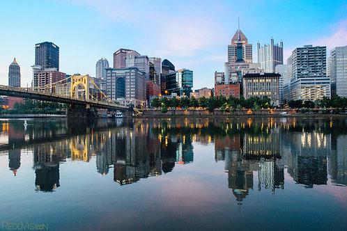 Good Morning Pittsburgh (8x10)