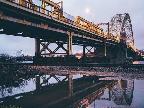 Steel Reflection 11x17