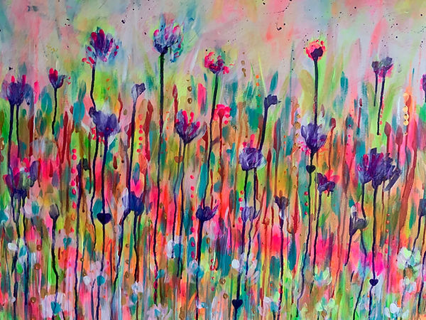 florals, flowers, flower painting