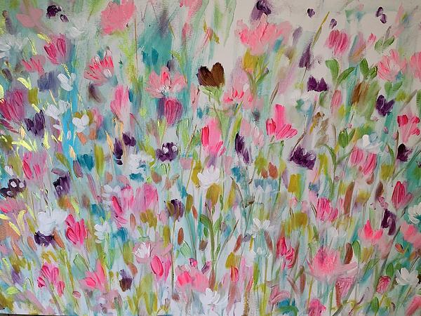 flowers, flower painting, floral art