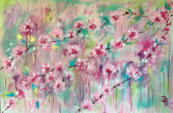 Cherry blossom, blossom , floral art, floers pink blossom