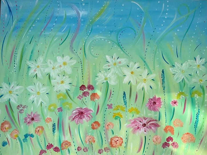 Flowers Meadow floral