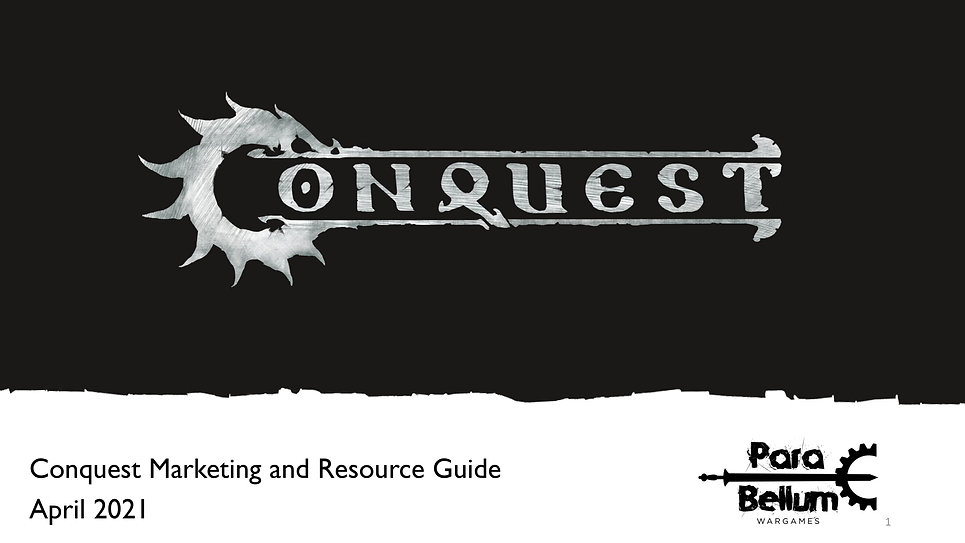 Conquest Update and Resource Guide for A