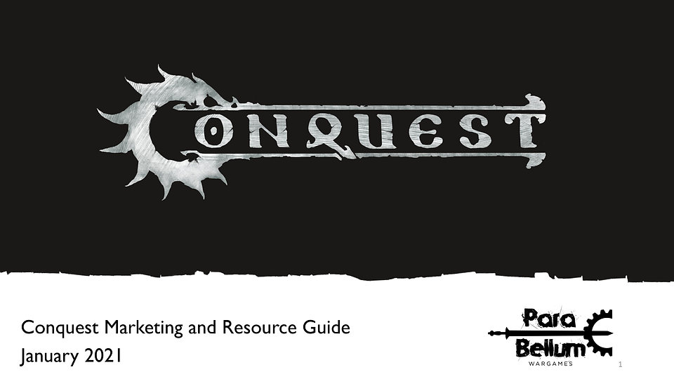 Conquest Update and Resource Guide for J