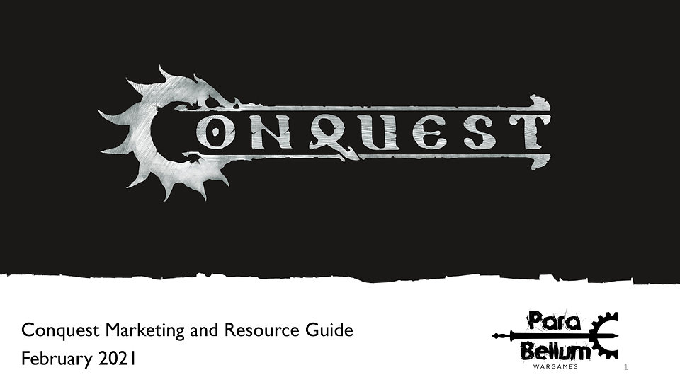 Conquest Update and Resource Guide for F