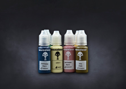 The Spires Paint Set