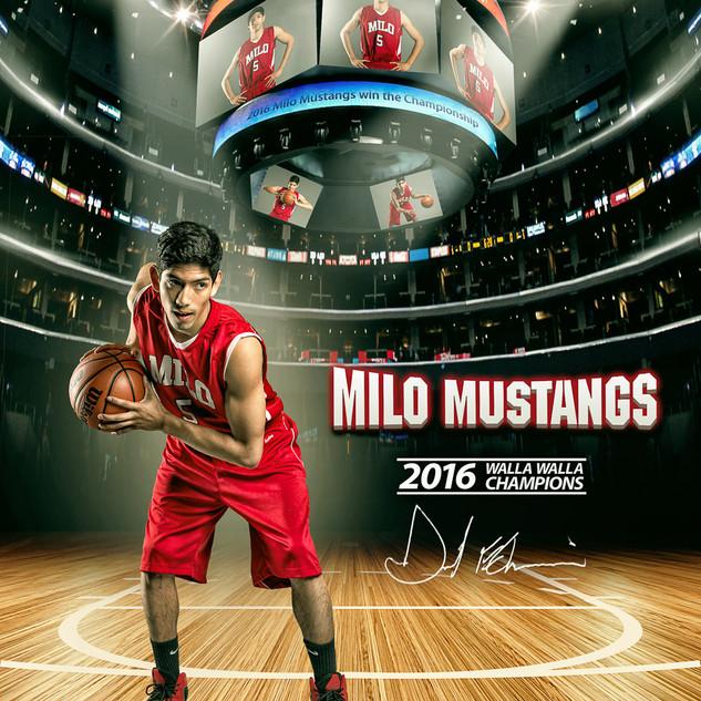 Basketball Portrait Composite