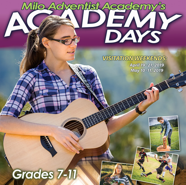 Academy Days Event Poster