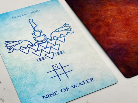 Nine of Water (Cups)